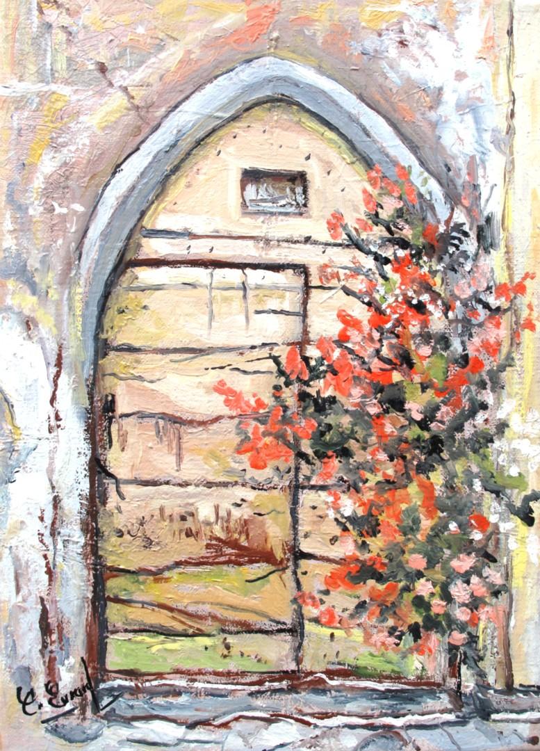 Claude Evrard - Le porche médiéval