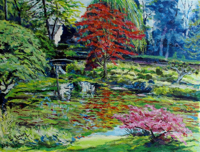 Claude Evrard - Le jardin japonais