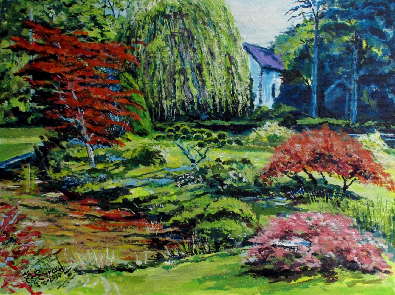 Claude Evrard - Jardin à Courances