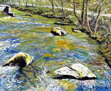 La rivière tourmentée (L'aven à Pont-Aven)