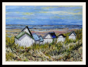 Les cabanes de Gouville (Manche)