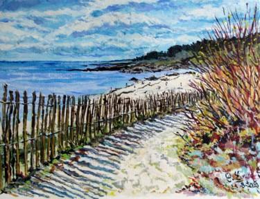 Vers la plage (Sud Finistère)