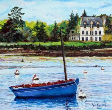 LE BATEAU BLEU (Baie de Loctudy - Finistère)